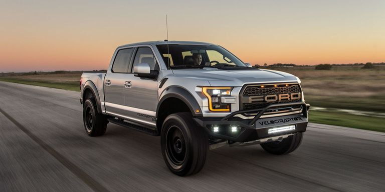 hennessey ford f-150 raptor - tuned velociraptor gets 605 hp