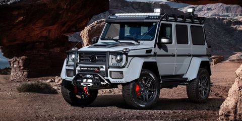 Brabus Gives the Mercedes 4x4² 126 More Horses, Because What This Truck Needed Was More Anything