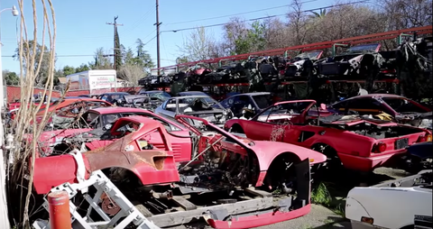 Ferrari Graveyard
