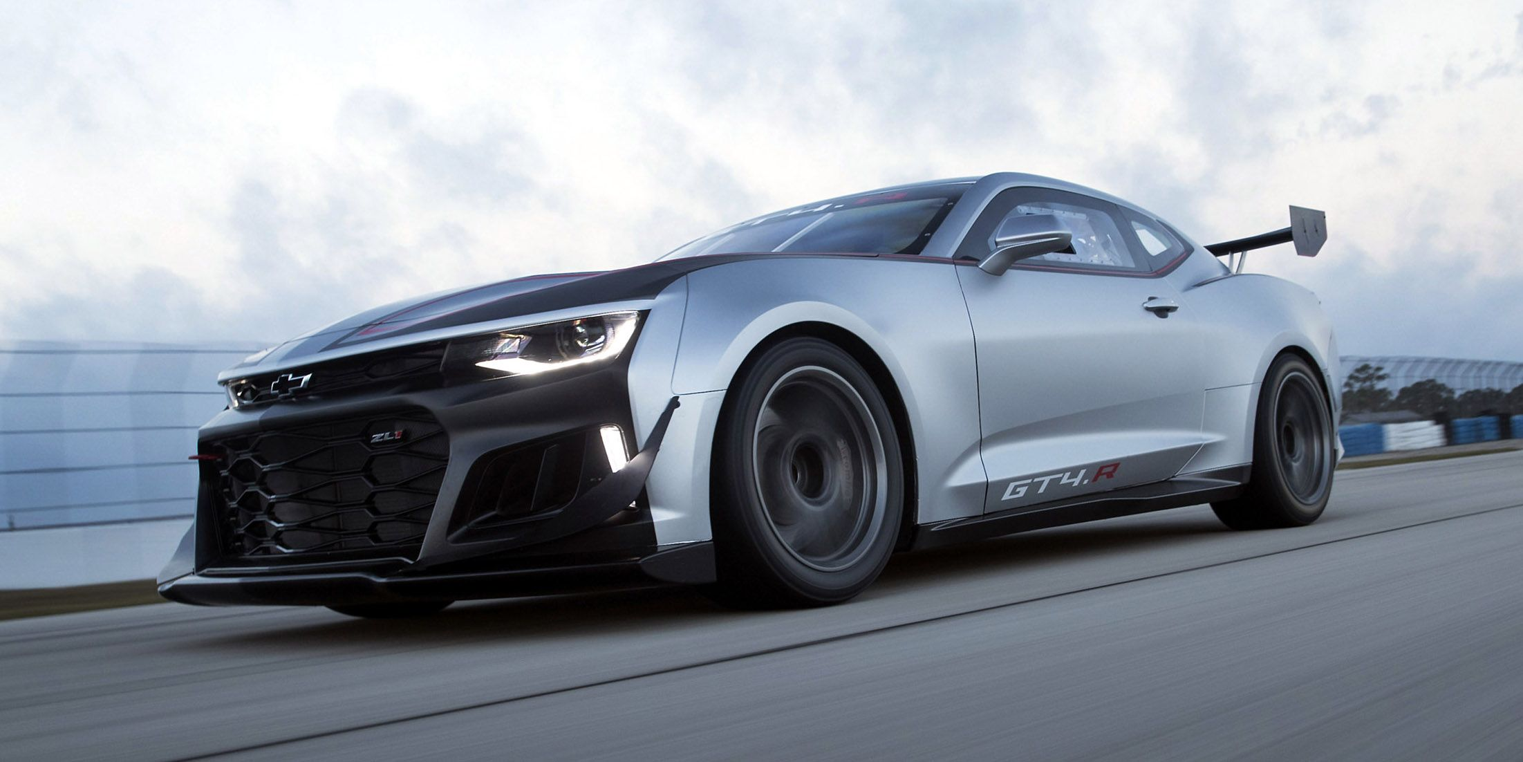 This Is Chevy s ZL1 Based Camaro GT4 Race Car