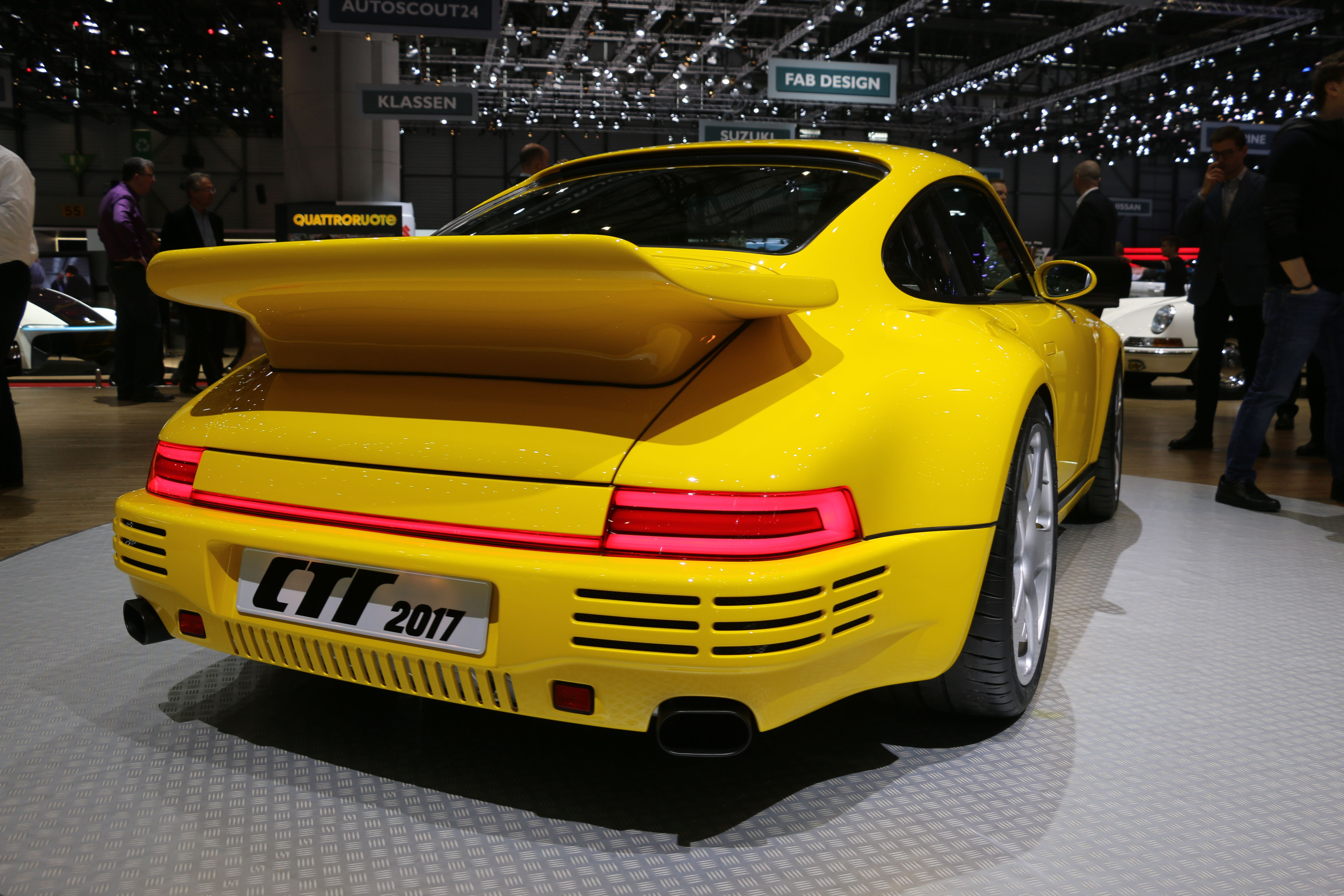 How Alois Ruf And His Company Built An All Carbon Tribute To The
