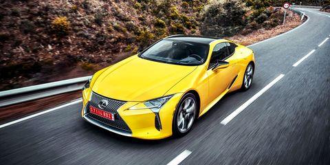 Land vehicle, Vehicle, Car, Yellow, Automotive design, Motor vehicle, Lexus, Sports car, Lexus is, Mid-size car,