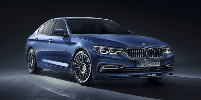 BMW Alpina B5 Biturbo Brings 608 Horses to the 5-Series