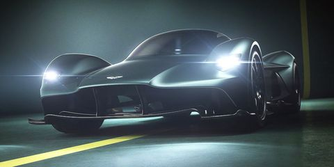 Aston Martin's V12 Hypercar Is Called Valkyrie