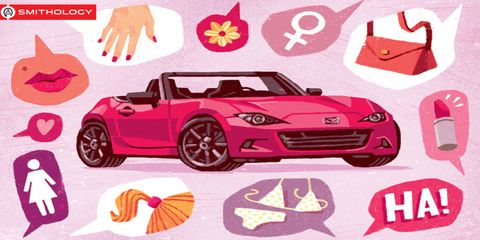Vehicle, Pink, Car, Automotive design, Red, Product, Sports car, Convertible, Font, Hood,