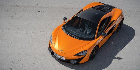 Land vehicle, Vehicle, Car, Supercar, Automotive design, Orange, Sports car, Mclaren automotive, Mclaren mp4-12c, Yellow,