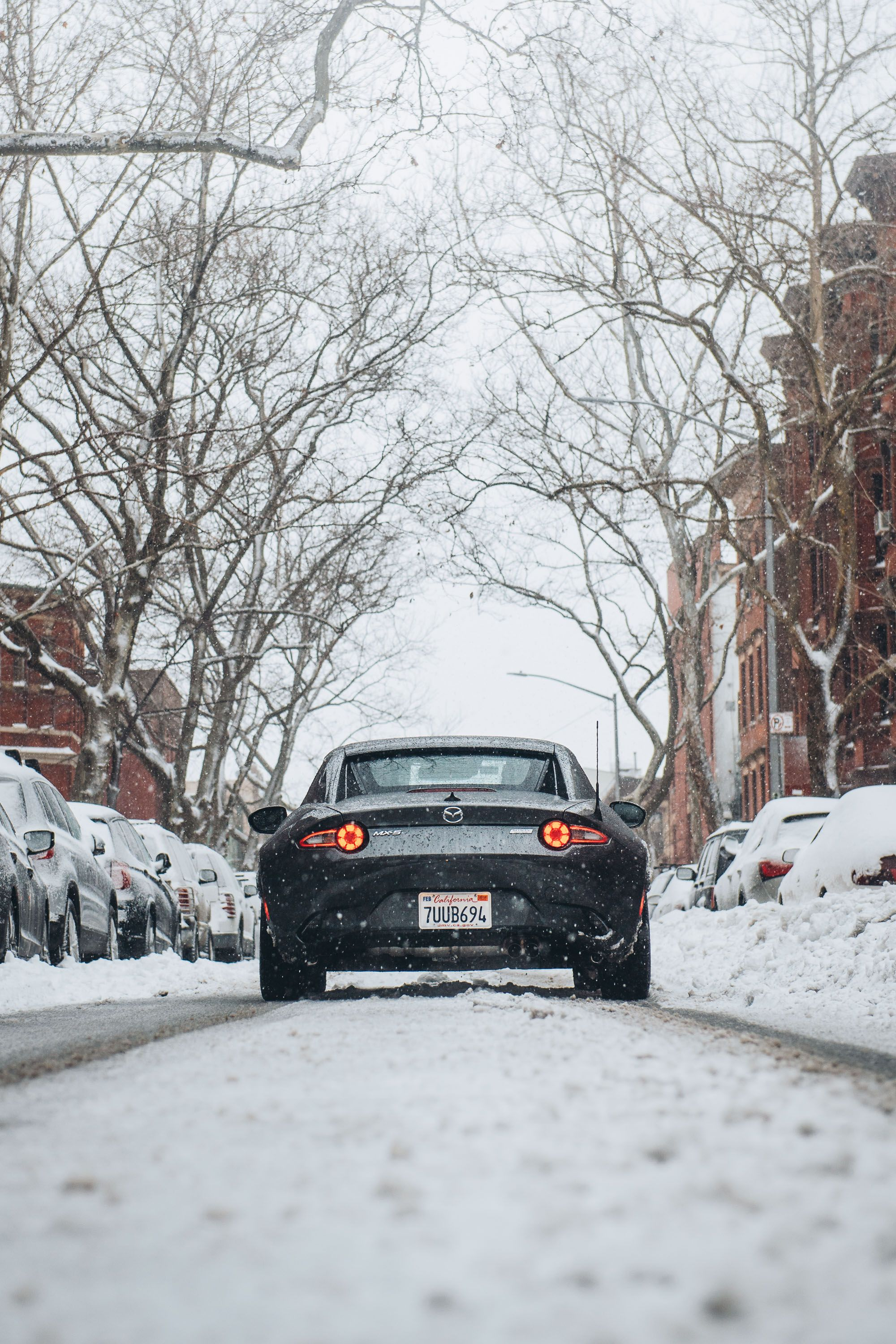 How to store a car for the winter