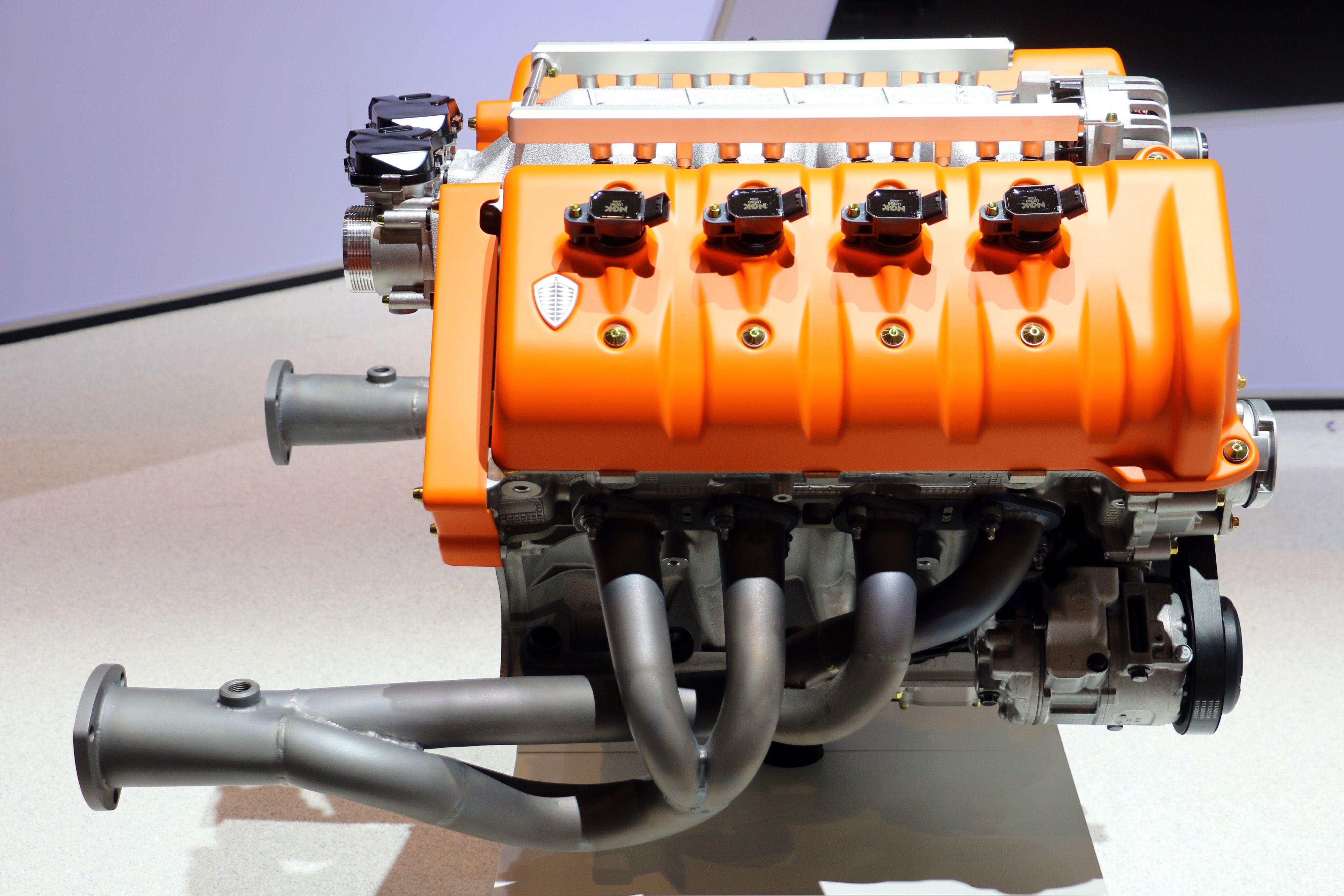 How Koenigsegg Made a Better Ford V-8