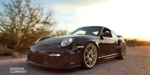 "<p>Porsche collectors love a model that represents the end of an era. <a href=""http://www.goodingco.com/vehicle/2011-porsche-997-gt2-rs-2/"" target=""_blank"" data-tracking-id=""recirc-text-link"">This 2011&nbsp;GT2 RS</a> will likely be the last turbocharged, manual-equipped 911 ever built. Still, over one-half million for a 997?</p>"