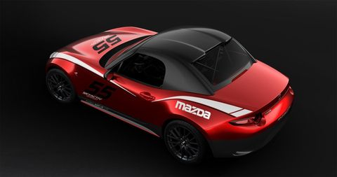 Land vehicle, Vehicle, Car, Automotive design, Performance car, Red, Sports car, Mazda mx-5, Supercar, Concept car,