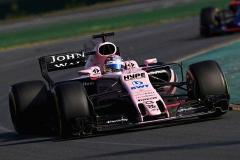 Sergio Perez 2017 Australia force india