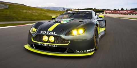 Aston Martin S New Le Mans Race Car Looks Very Familiar