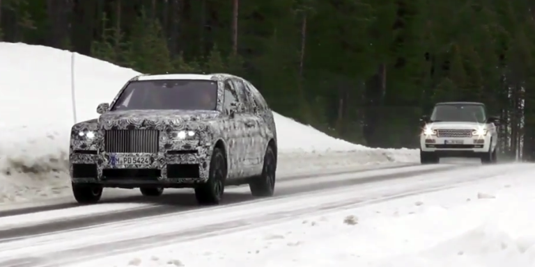 Finally, A New Rolls-Royce to Compete With Range Rover