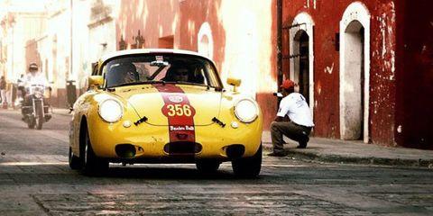 Land vehicle, Vehicle, Car, Regularity rally, Coupé, Classic car, Sports car, Porsche 356, Subcompact car, Porsche,