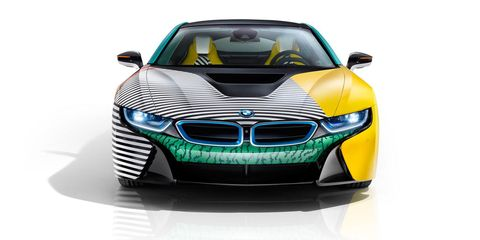 This Is The 80s Tastic Paint Job The Bmw I8 Always Deserved