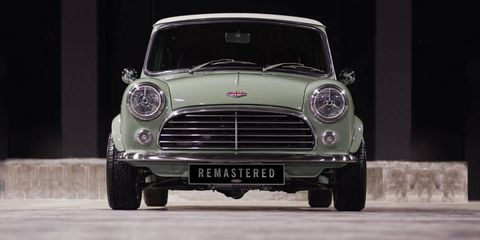 This Stunning Resto Modded Mini Is Yours For 87000