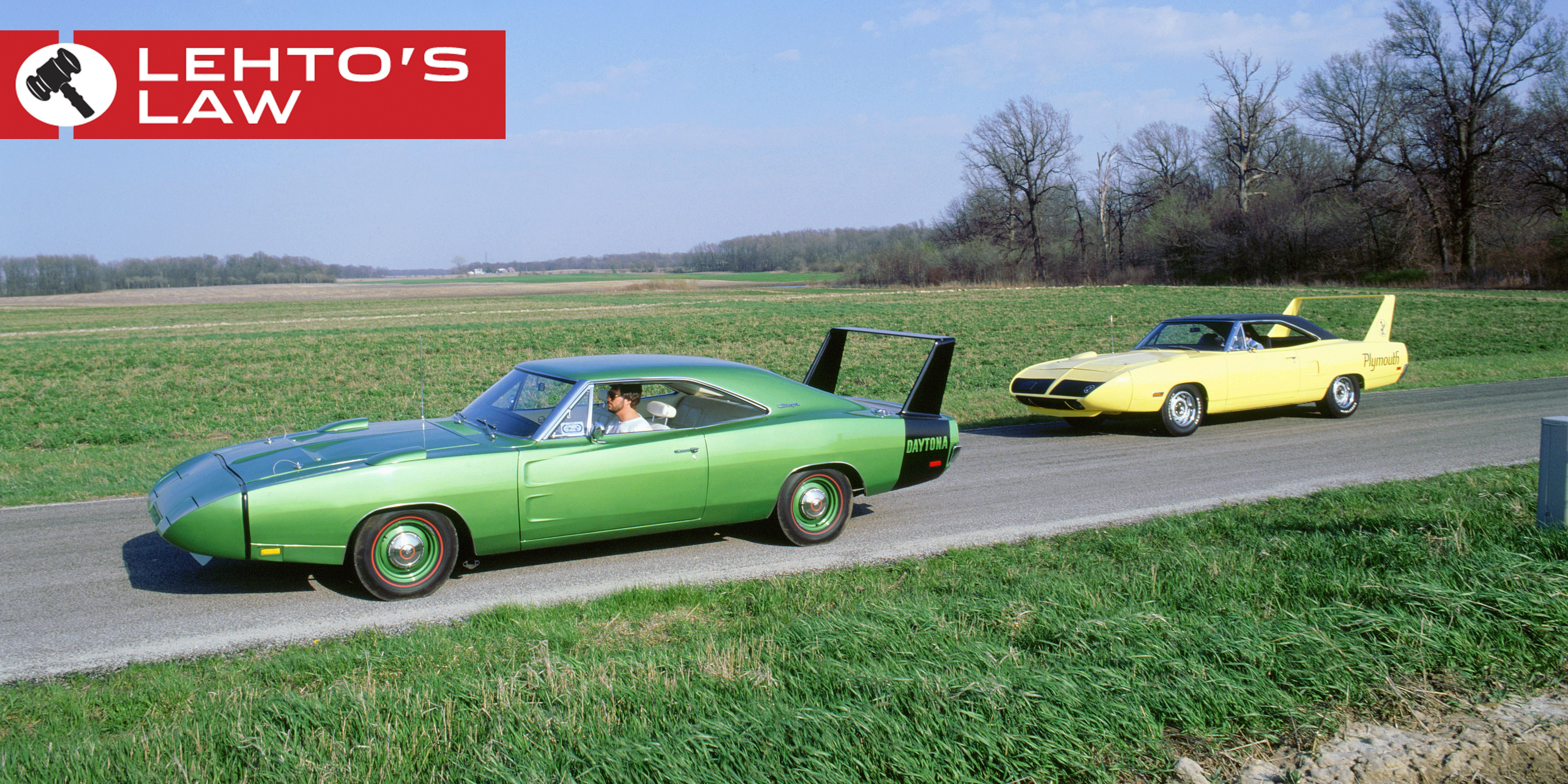The Plymouth Superbird Was Actually Slower Than Dodge Charger Daytona