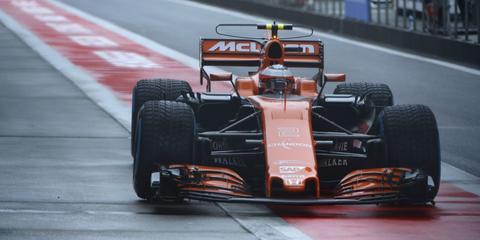 McLaren Formula 1 2017 chinese grand prix free practice