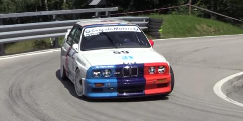 BMW E30 M3 Hillclimb Group A