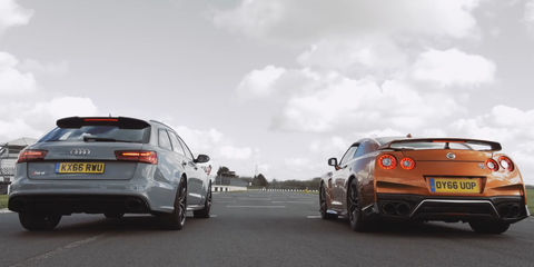 Can an Audi RS6 Wagon Beat a Nissan GT-R? Depends Who You Ask