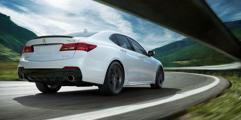 Tlx A Spec >> The 2018 Acura Tlx A Spec Gets A V6 And Torque Vectoring All Wheel Drive