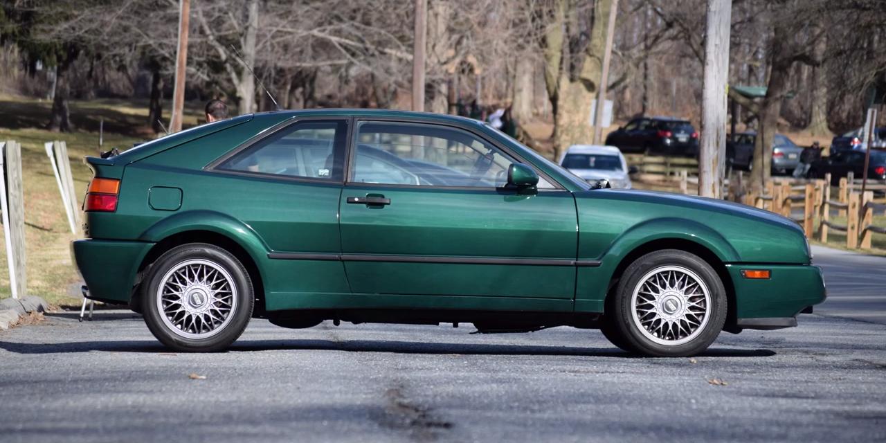 The Volkswagen Corrado VR6 Is A Rare German Gem