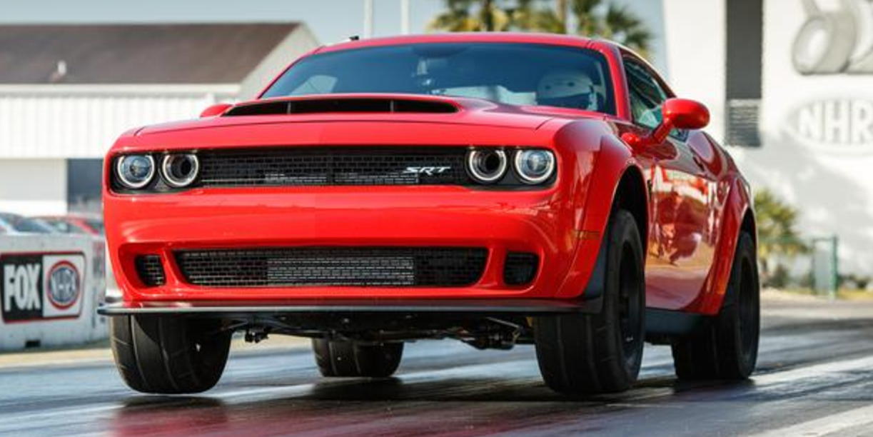 The Demon's Speed-Limited Drag Radial Tires Make it Slower Than the Cherokee Trackhawk