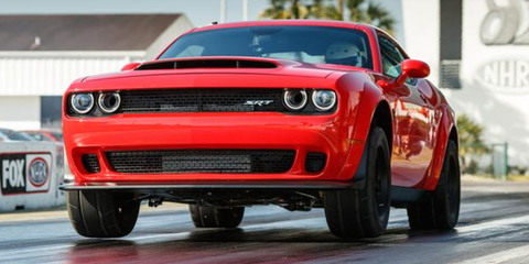 2018 Dodge Challenger Demon Top Speed Is Limited At 168 Mph Dodge