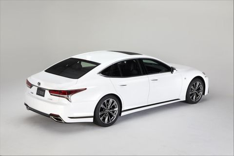 The Brand New Lexus Ls 500 F Sport Will Only Be Available With A