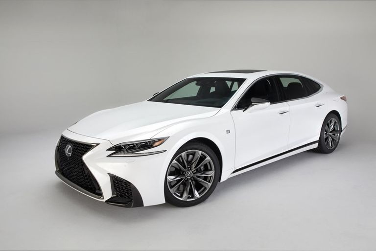 The nd New Lexus LS 500 F Sport Will Only Be Available With a ...