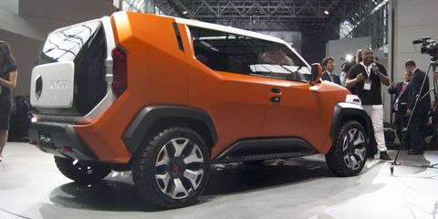 The Ft 4x Concept Is Toyota S Version Of A Jeep Renegade