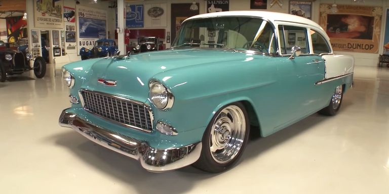 Would You Believe There's a V12 Engine Lurking in This '55 Chevy?