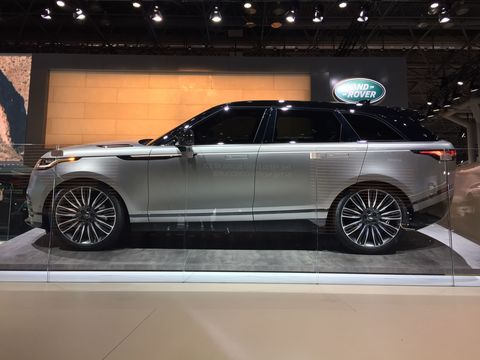 The Velar Will be Range Rover's Best-Selling Car