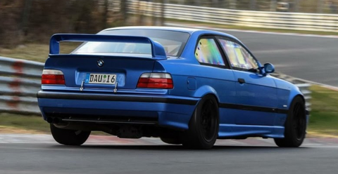watch this bmw e36 m3 set a blisteringly fast nurburgring lap with