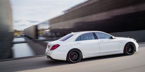 The Mercedes Amg S63 Now Makes 603 Horsepower