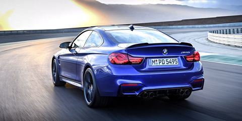 The 2018 Bmw M4 Cs Is Here With 454 Horses But No Manual Transmission