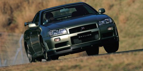 nissan skyline gt r r32 r33 r34 differences