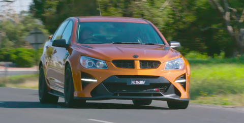 The Holden HSV GTSR W1 Is the ZR1-Powered Chevy SS We'll