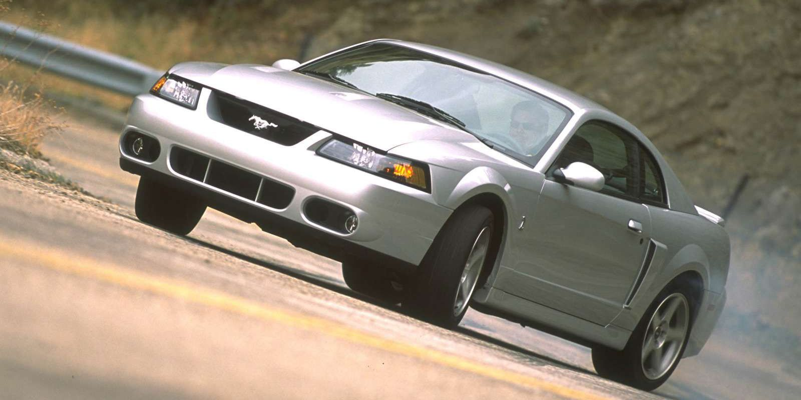 The terminator mustang svt cobra was the original hellcat