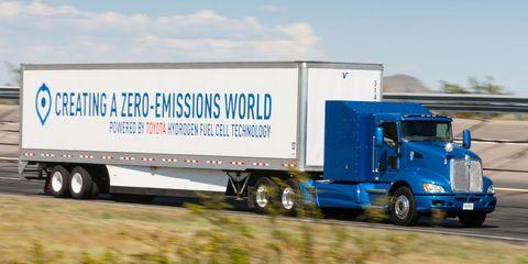 Transport, trailer truck, Truck, Vehicle, Motor vehicle, Mode of transport, Commercial vehicle, Freight transport, Trailer, Car,
