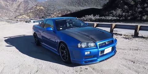 The R34 Skyline GT-R More Than Lives up to the Hype