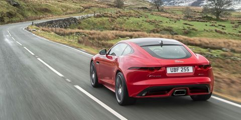 Listen To The Four Cylinder Jaguar F Type Which Sounds Pretty Okay