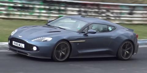 Aston Martin Vanquish Zagato Nurburgring