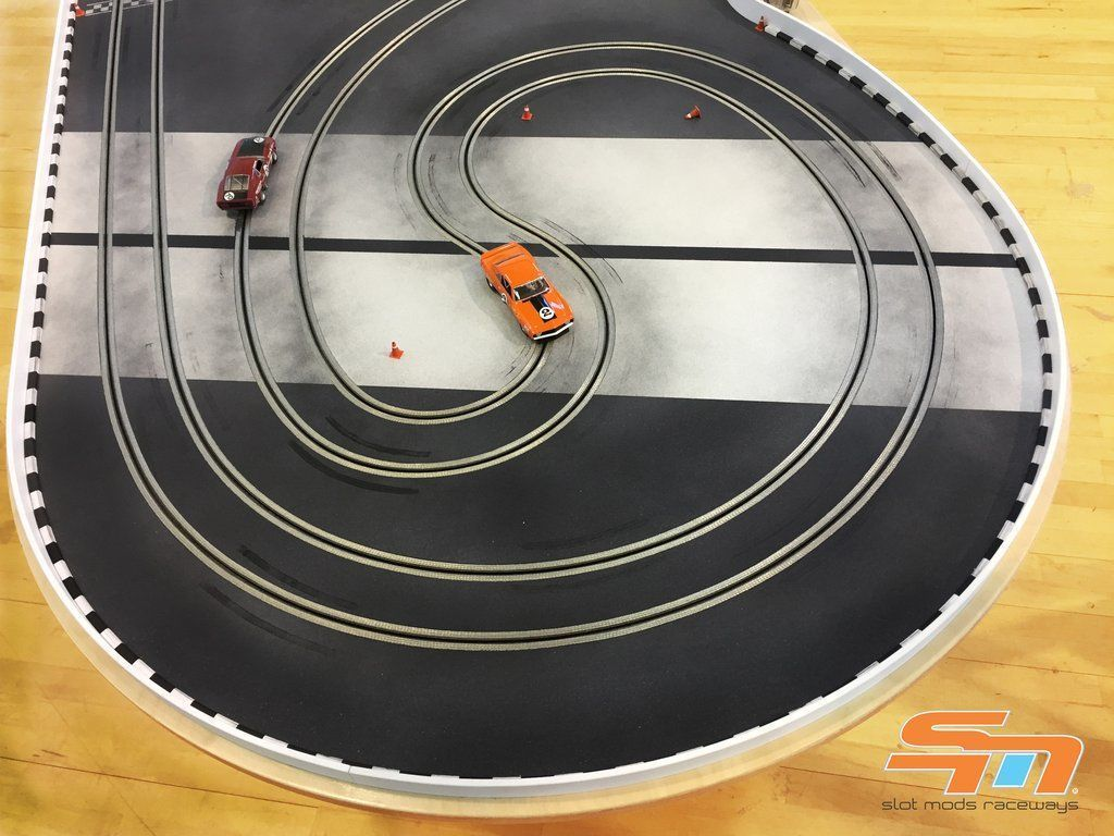 Home slot car track pictures