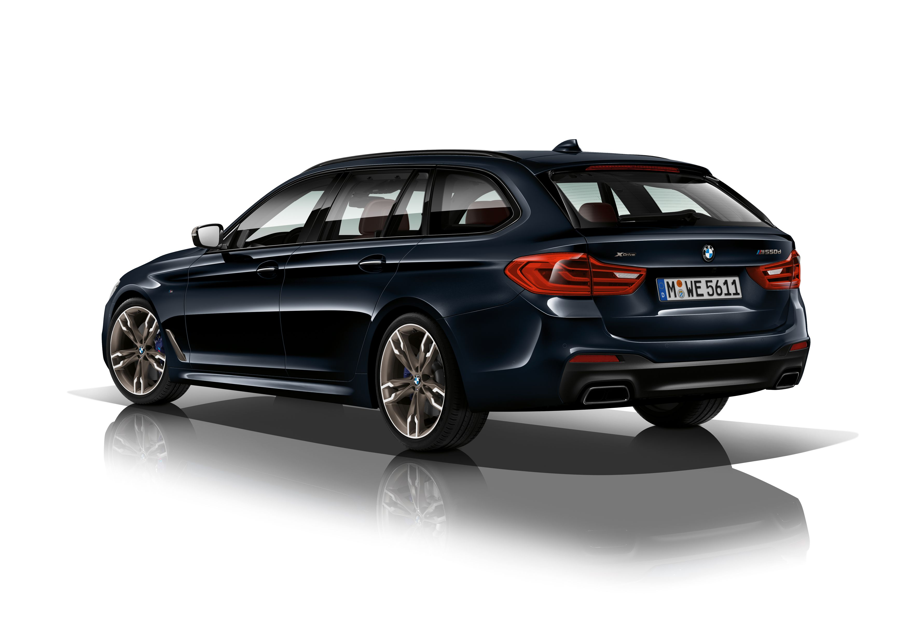 The BMW M550d xDrive Touring Is the QuadTurbo Diesel Wagon of