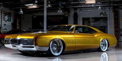 How Much Is A Car Paint Job >> It Doesn't Take Much to Turn a '66 Riviera Into a Killer ...