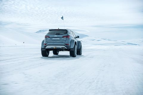<p>The 38-inch tires were designed by Arctic Trucks for exactly this job. They cost around $800 a piece.</p>
