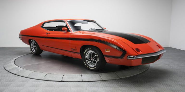 This Ultra Rare Ford Torino King Cobra Prototype Is Up For