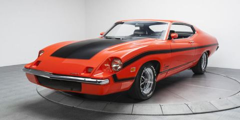 This Ultra-Rare Ford Torino King Cobra Prototype Is Up For Sale