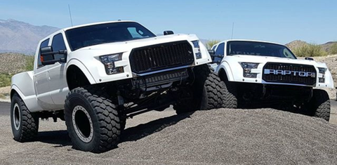 "This Custom-Built F-250 ""MegaRaptor"" Is the Ultimate Ford ..."